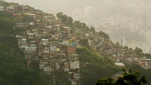 Hillside homes footage Footage