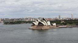 Sydney Opera House. Australia stock footage