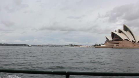 Sydney Opera House. Australia Footage