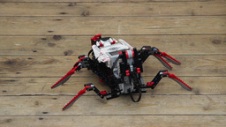 Robot Spider stock footage