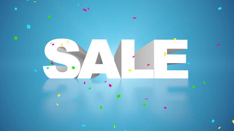 Sale B stock footage