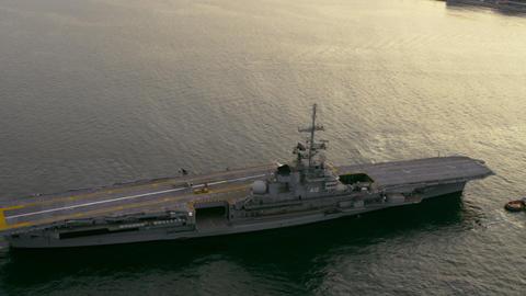 Aircraft carrier - Rio de Janeiro, Brazil Footage