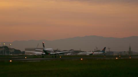 RIO DE JANEIRO, BRAZIL - JUNE 21: Small plane takes off from the Jacarepaguá ai Footage