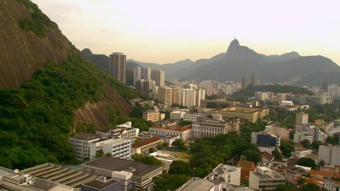 Aerial shot of Rio de Janeiro, Brazil Live Action