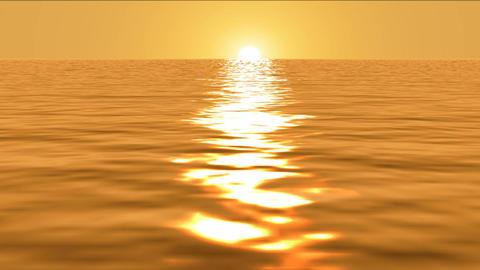 Golden Ocean Dream Trip HD Animation