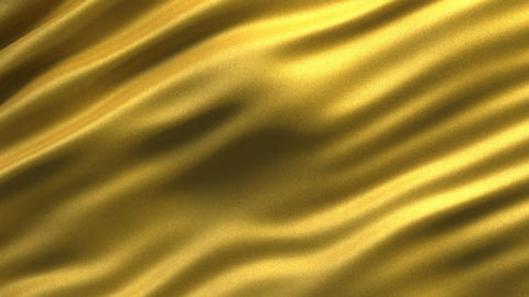 Abstract golden fabric - seamless loop Animation