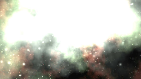 Through The Nebula To The Central Sun stock footage