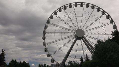 Ferris wheel. 4K Footage