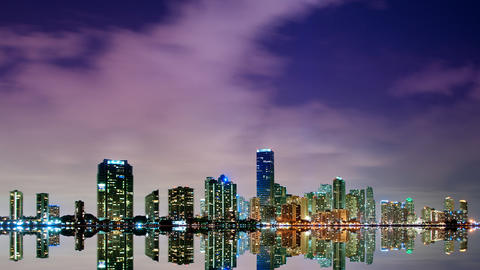 Miami skyline Live Action