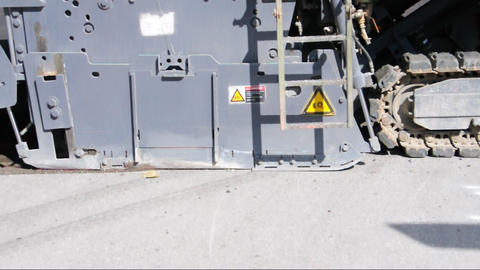 Cold milling machine Footage