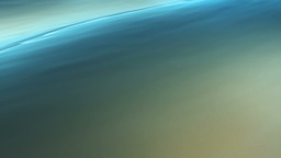 Background loop of relaxing blue waves in shallow  Animation