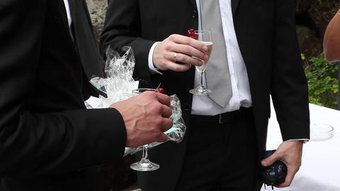 champaigne reception Live Action