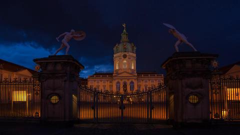 Charlottenburg Palace Footage