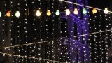 Decorated Night Club stock footage