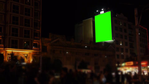 Blank billboard Footage