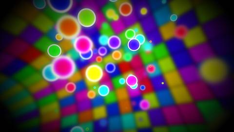 Inside disco ball loop Stock Video Footage
