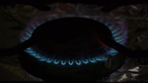 Coocking stove Stock Video Footage