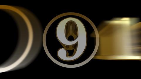 CountDown 10 Da Stock Video Footage