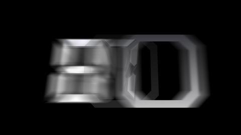 CountDown 10 Fa Stock Video Footage