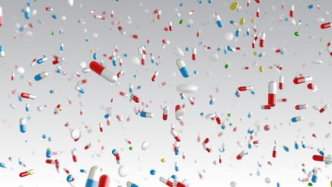Medicine Drug 2cW Capsule Tablet pills Stock Video Footage