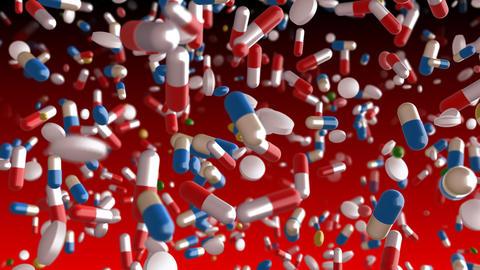 Medicine Drug 2dR Capsule Tablet pills Stock Video Footage
