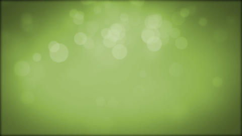 Moving Particles. Green. Loop Stock Video Footage