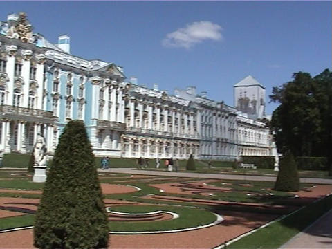 Palace in St. Petersburg Footage