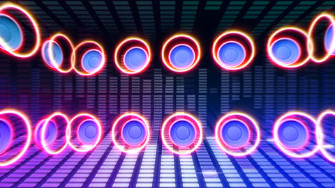 DJ Sound Ac Stock Video Footage