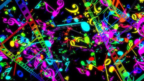 Music Film Bc2 Stock Video Footage