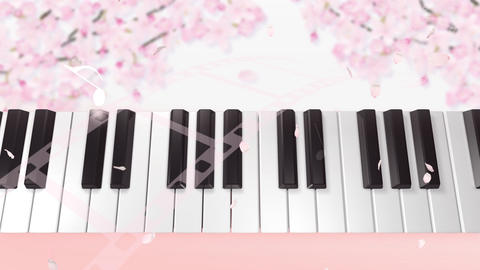 Music keyboard 4s Animation