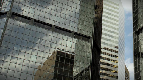 1184L City Skyscrapers Urban Buildings Architecture... Stock Video Footage