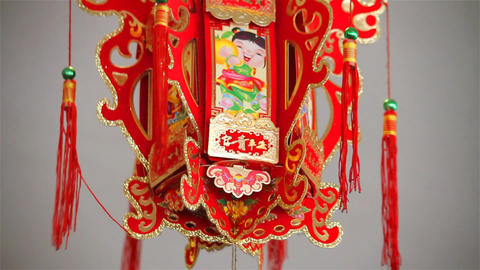 Chinese decoration Stock Video Footage