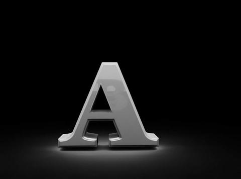 Letters sign. Alphabet Stock Video Footage