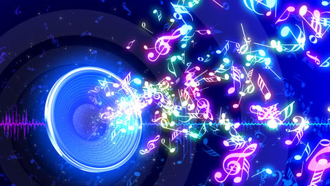Music Notes Jet A S3 Animation