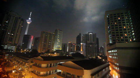 Menara Kuala Lumpur Stock Video Footage