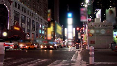 New York Timelapse Blurred ライブ動画