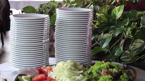 Plates stock footage