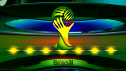 Brazil World Cup 2014 stock footage