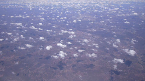 AERIAL: Flying above the clouds Footage
