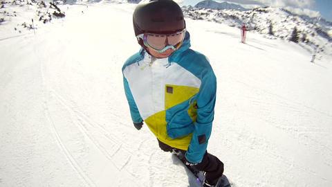 Snowboarding Footage