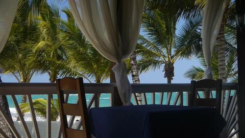 Tourist Resort stock footage