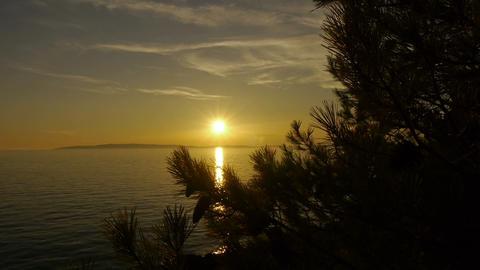 Beautiful sunset Footage
