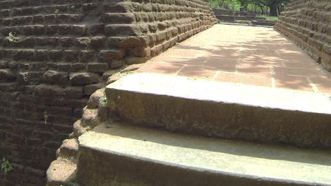 AERIAL: Ancient temples in Sri Lanka Footage