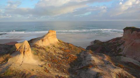 AERIAL: Amazing portugal seaside Footage