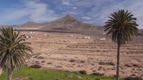 Beautiful desert in Canary islands Footage