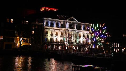 Amsterdam Light Festival Footage