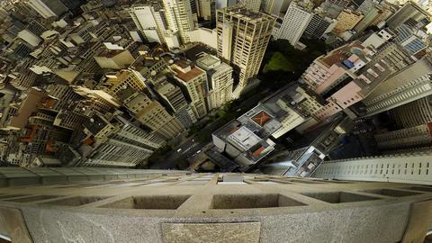 Sao Paulo Brazil skyline video panorama Footage