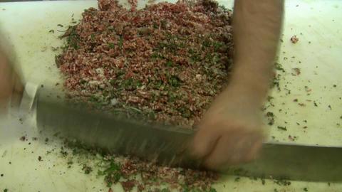 Making of Kebob skewer Footage