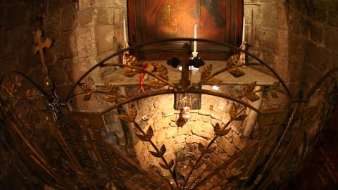 The Greek Orthodox Church of the Annunciation in N Footage