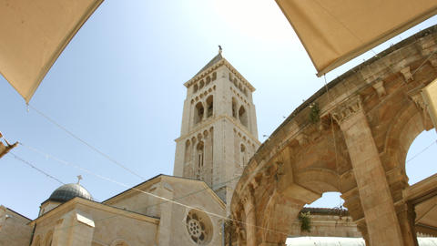 4K UHD Church of the Redeemer, Jerusalem, Israel Footage